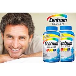 Thuốc bổ Centrum Silver dành cho nam giới trên 50 tuổi