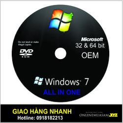 Đĩa DVD cài win 7 ALL IN ONE EOM