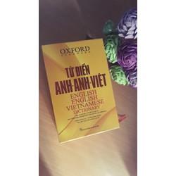 Từ điển Oxford Anh Anh Việt Bìa cứng vàng