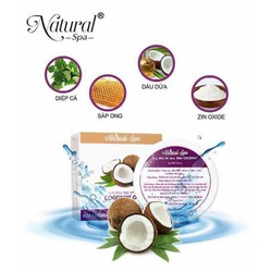 Kem Chống Nắng Body Sữa Dừa - Natural Spa