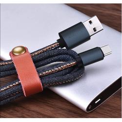 Cáp sạc USB Type C Jean Style Quick Charge 1 mét