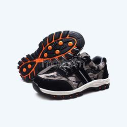Giày bảo hộ Camouflage màu đen xám