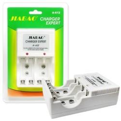 Bộ sạc pin đa năng Jiabao A-612 sạc cho pin 2A,3A, pin 9V