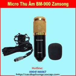 Micro Thu Âm Chuyên nghiệp  Zansong BM-900