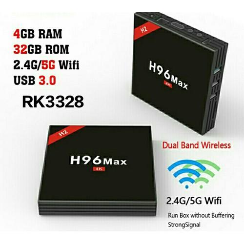 TV Box H96 Max Ram4G Rom 32G