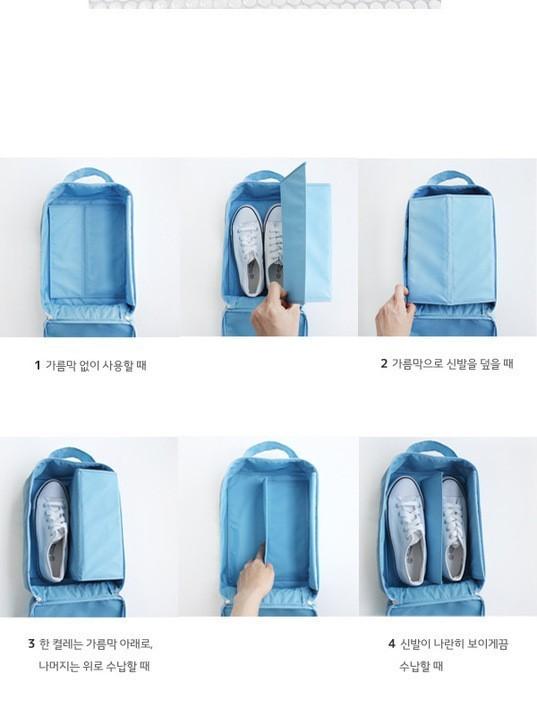 Túi Đựng Giày chống thấm du lịch tiện ích Cao Cấp Loại Lớn 5