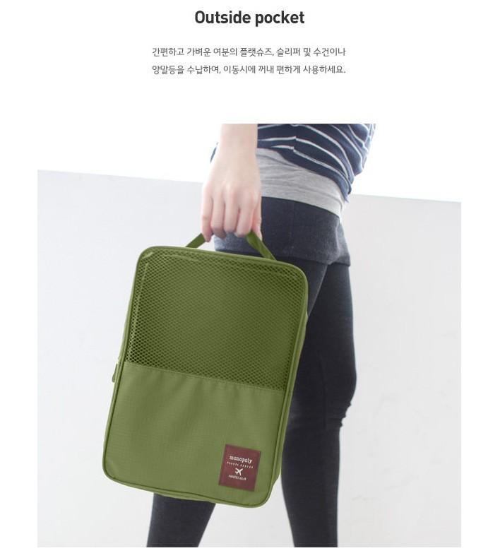 Túi Đựng Giày chống thấm du lịch tiện ích Cao Cấp Loại Lớn 9