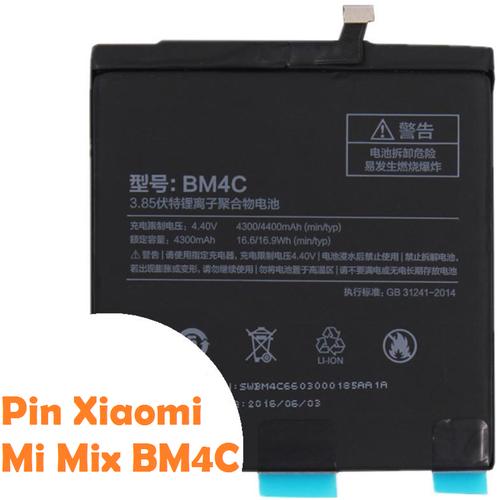 Pin BM4C cho Xiaomi MiMix - Hàng nhập khẩu