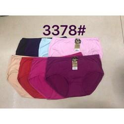 CHUYÊN SỈ: 10 quần lót cotton big size 55-70kg