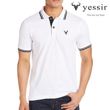 Áo thun nam Yessir có cổ cao cấp nhiều màu, form chuẩn đẹp, được xem hàng