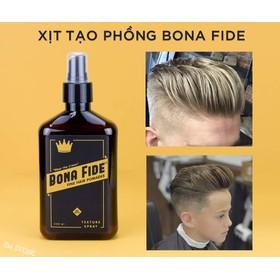 Xịt dưỡng tạo phồng tóc cao cấp BONA FIDE Texture Spray - BNF1
