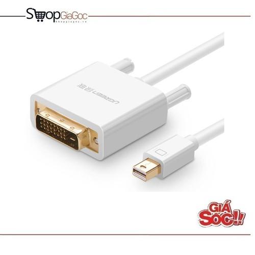 Cáp chuyển đổi Mini Displayport to DVI dài 3 m Ugreen 10425