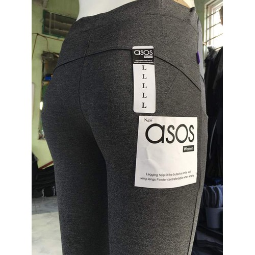 Quần bầu lửng- quần Legging asos nâng mông