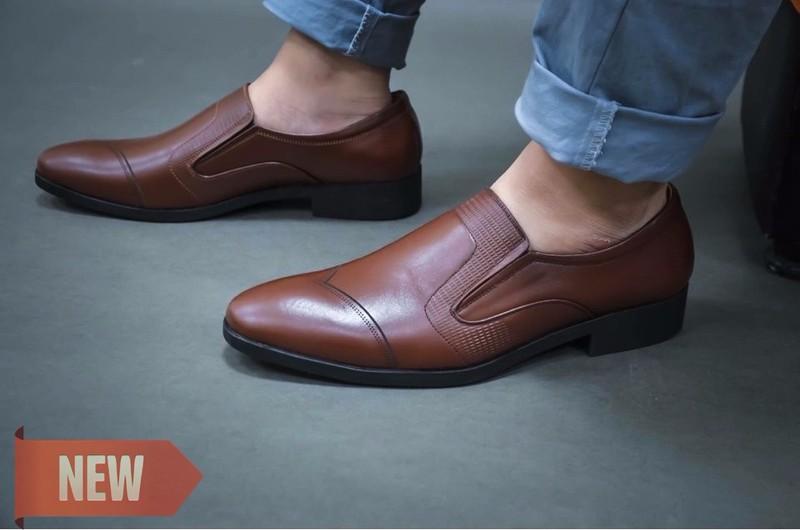 Giày Lười Công Sở Thời Trang SG186N 2