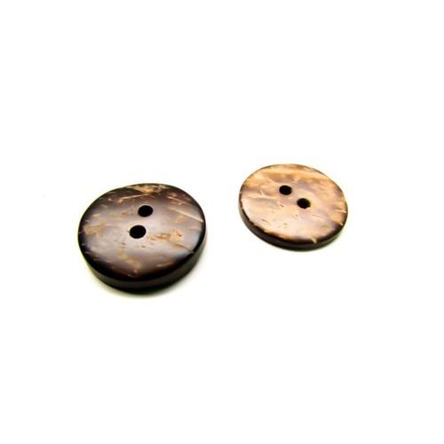 Cúc trang trí gỗ dừa 16mm