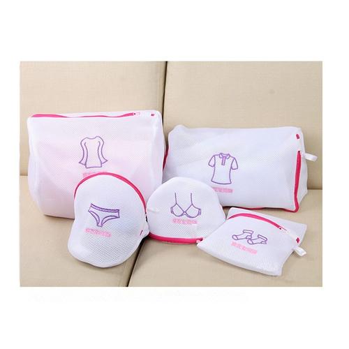 Set 5 túi giặt quần áo các kích thước 3 lớp siêu dầy