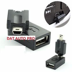 Thiết bị chuyển đổi USB mini thành đầu USB lớn dùng cho oto.