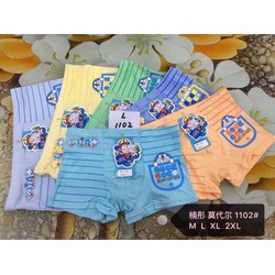 CHUYÊN SỈ: 10 quần lót đùi bé trai cao cấp Doraemon