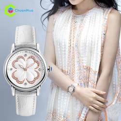 Đồng hồ nữ dây da sang trọng - Chính Hãng SKMEI - Cao cấp giá rẻ