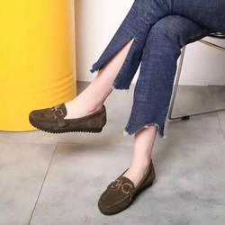 Giày mọi nữ khoá mới