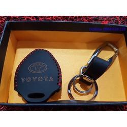 Bao da chìa khóa ToyotaALTIS, CAMRY, VIOS