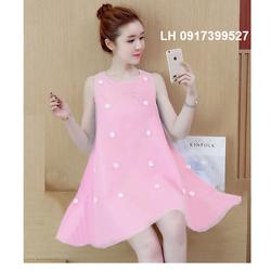 Đầm bầu thời trang mới, Váy bầuxinh L12ADV156