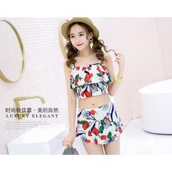 Bộ đồ bơi nữ phong cách Hàn Quốc -Bikini quần áo tắm nữ