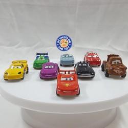 Bộ 8 xe đồ chơi chạy trớn cho bé CAR