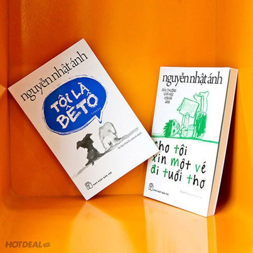 Combo 2 Cuốn Tôi Là Bê Tô - Chô Tôi Một Vé Đi Tuổi Thơ