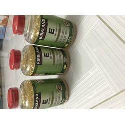 Viên Uống Đẹp Da Kirkland Signature Vitamin E 400 I.U