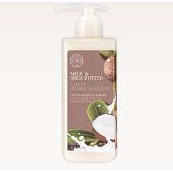 Sữa Dưỡng Thể Milk, Shea Butter Oil Infused Body Lotion