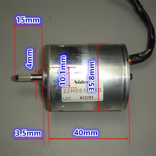Motor Brushless 2 - Động Cơ Không Chổi Than 7,5V-24V
