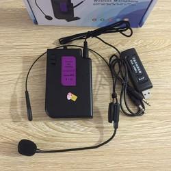 Míc không dây đeo tai, mic trợ giảng không dây, micro không dây trợ giảng đa năng V11