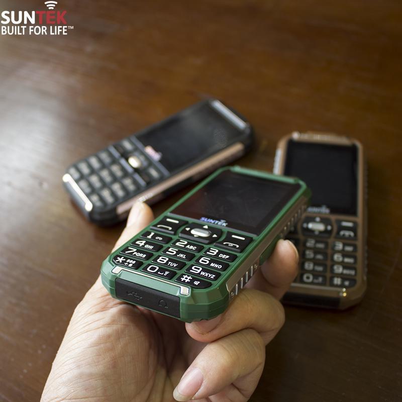 Điện thoại SUNTEK X68 + Kiêm PIN sạc dự phòng 9