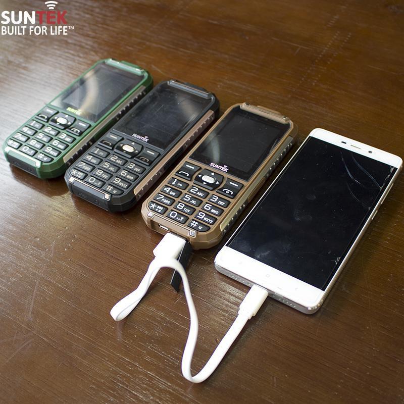 Điện thoại SUNTEK X68 + Kiêm PIN sạc dự phòng 11