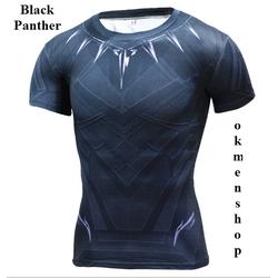 Áo tập gym nam Black Panther - Thể hình