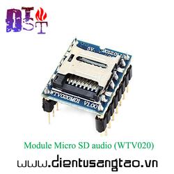 Module Micro SD audio WTV020