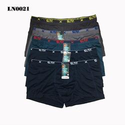 Bộ 05 quần xịp đùi boxer SUAK 2 lưng thun lạnh cao cấp