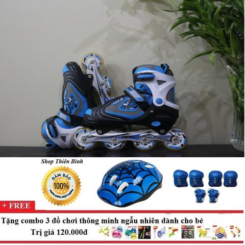 Giày trượt patin kèm đồ bảo hộ size 36-39| Giày trượt patin|giày trượt