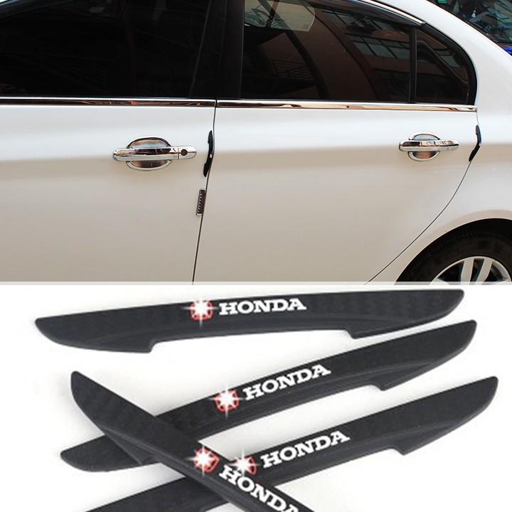 Nẹp trang trí chống va đập cửa xe logo HONDA 2