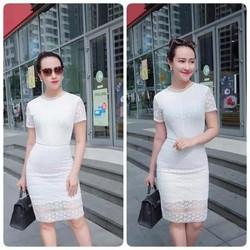 Váy ren fom chuẩn thiết kế