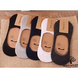 Tất Vớ Lười Nửa Bàn Chân Mang Giày Lười Giày Bệt – Vớ Lười Nam Cổ Ngắn Thấm Hút Mồ Hôi