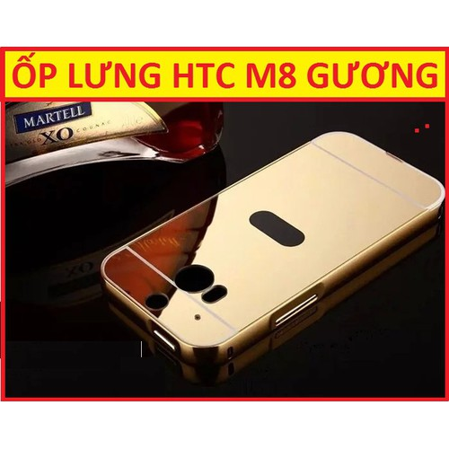 ỐP LƯNG TRÁNG GƯƠNG HTC M8
