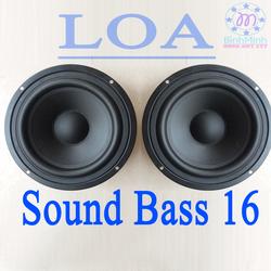 Loa sound bass  16