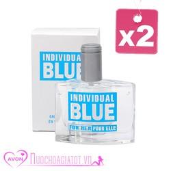 SET 2 NƯỚC HOA NỮ AVON BLUE POUR ELLE FOR HER 50ML