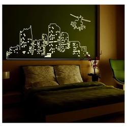 Decal dán tường dạ quang phát sáng trong đêm