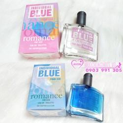 COMBO 1 CẶP NƯỚC HOA AVON BLUE ROMANCE FOR HIM VÀ HER 50ML