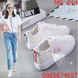 Giày Sneaker nữ nhập khẩu Hàn Quốc - 014