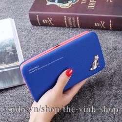 Ví bóp nữ Giày Cao Gót chứa tiền điện thoại đa chức năng tiện dụng