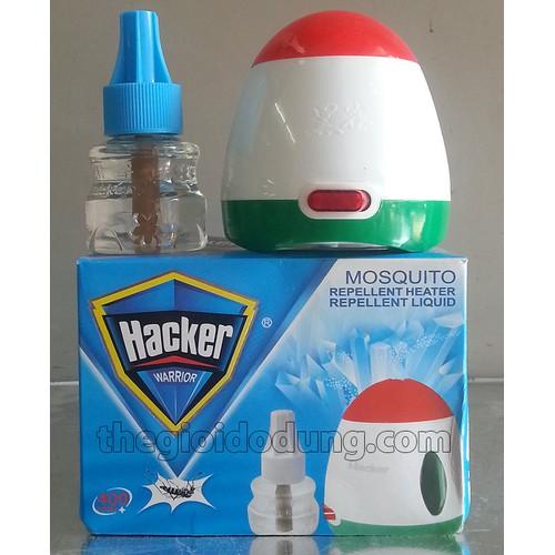 Máy đuỗi muỗi xông tinh dầu Hacker